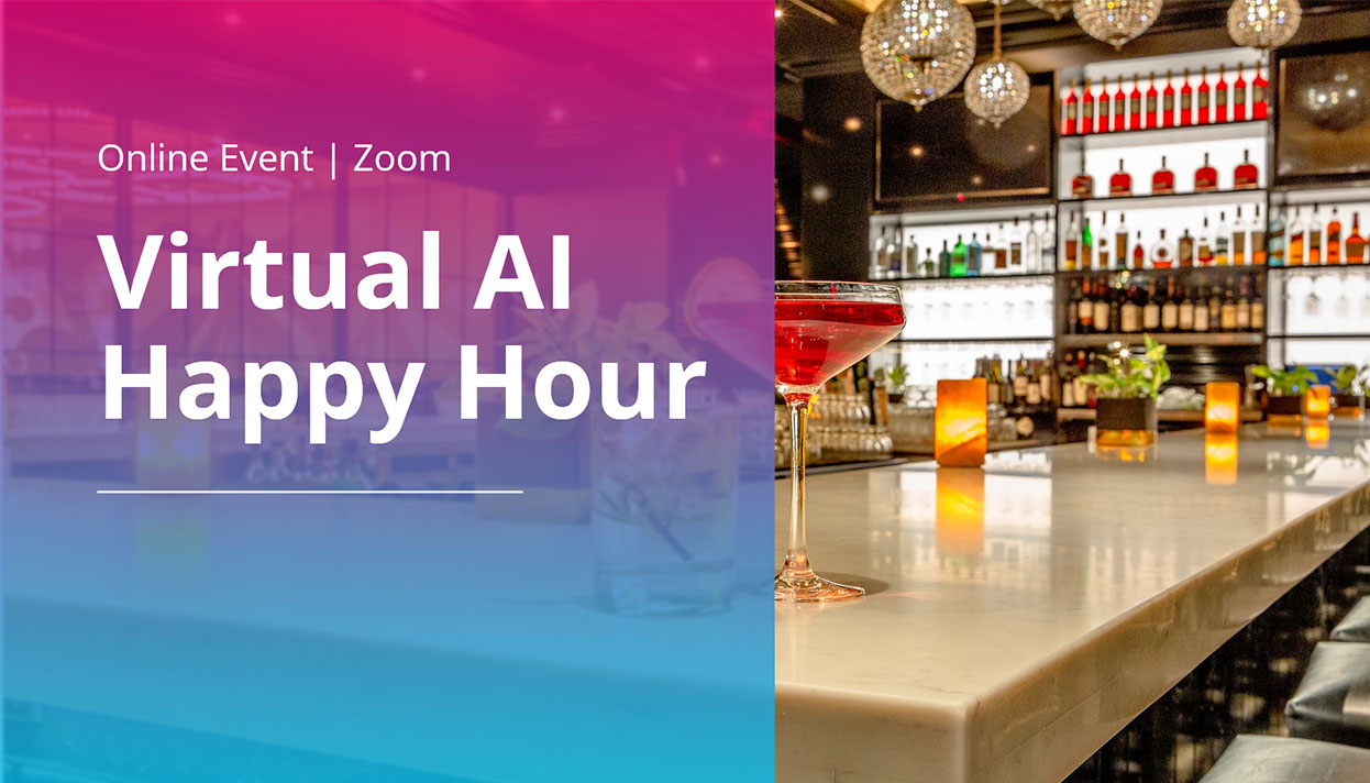 Virtual AI Happy Hour