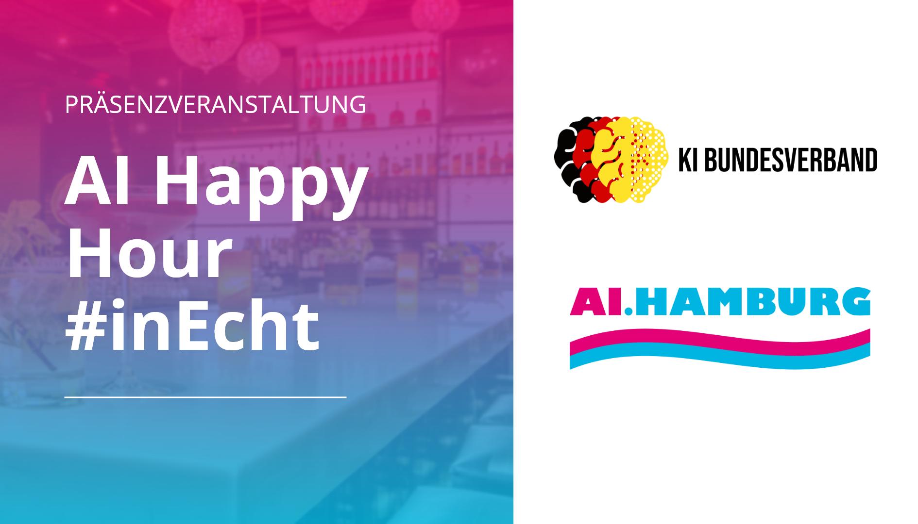 AI Happy Hour Präsenzveranstaltung