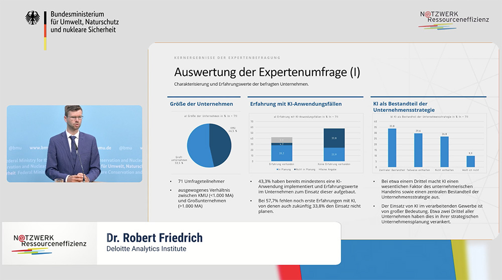 Dr. Robert Friedrich from Deloitte
